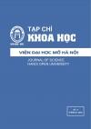 Tạp chí Khoa học Viện Đại học Mở Hà Nội số 17 tháng 03.2016