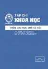 Tạp chí Khoa học Viện Đại học Mở Hà Nội số 24 tháng 10.2016