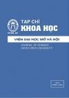 Tạp chí Khoa học Viện Đại học Mở Hà Nội số 26 tháng 12.2016